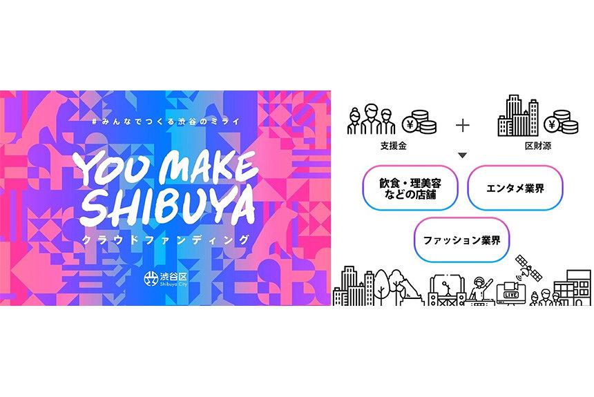 渋谷文化を「リアル」と「デジタル」で支援する『YOU MAKE SHIBUYA』始動
