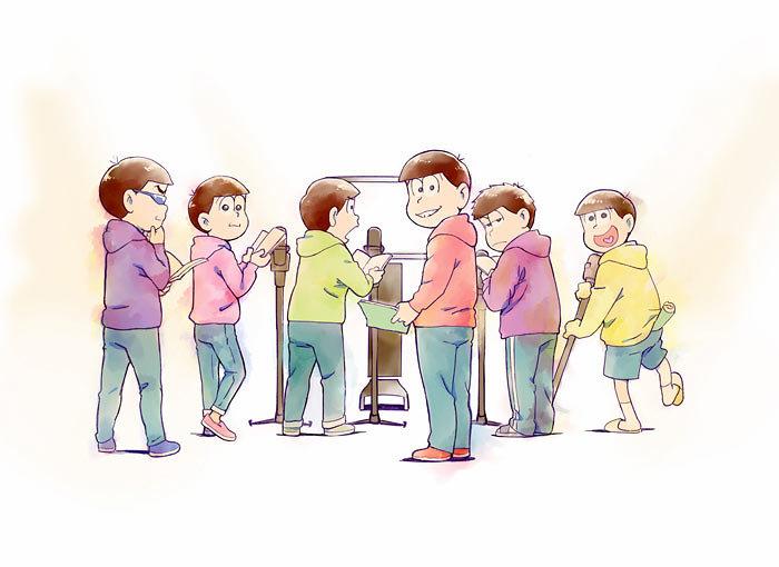 『おそ松さん』第3期超ティザービジュアル ©赤塚不二夫/おそ松さん製作委員会