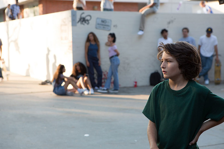 『mid90s ミッドナインティーズ』 ©2018 A24 Distribution, LLC. All Rights Reserved.