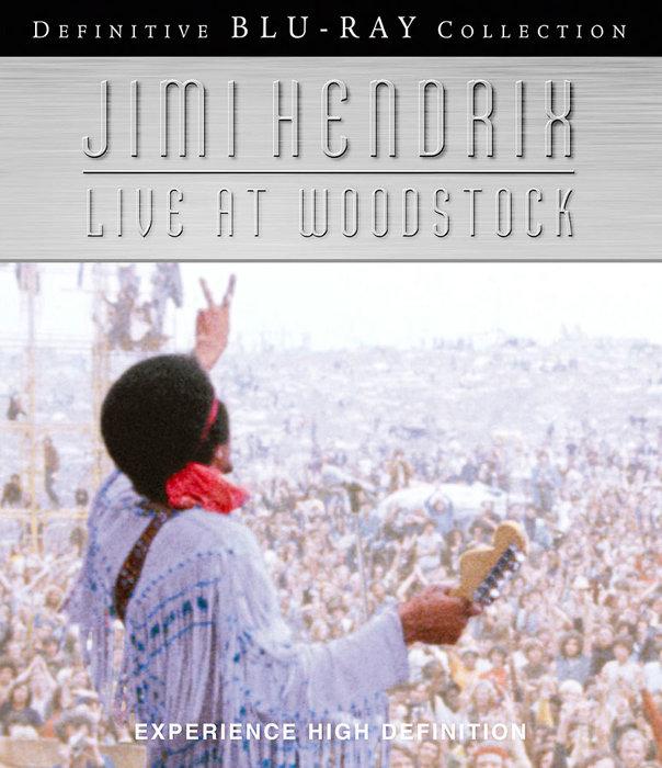 『ジミ・ヘンドリックス:ライヴ・アット・ウッドストック』BDジャケット