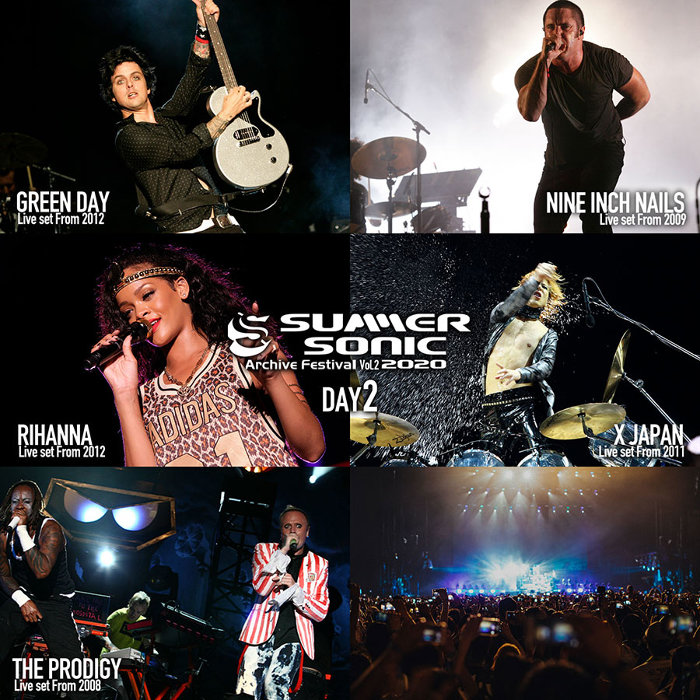 『SUMMER SONIC 2020 ARCHIVE FESTIVAL-vol.2-』DAY2