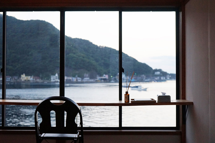 Tagore Harbor Hostelからの景色
