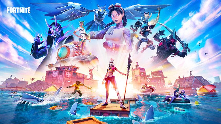 『フォートナイト』キーアート ©2020, Epic Games, Inc