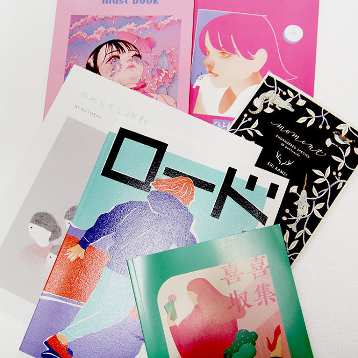 『Daikanyama Illustrators Selection supported by L'illustre Galerie LE MONDE』より