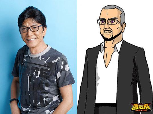 中田譲治と黒輝誉キャラクタービジュアル ©DLE
