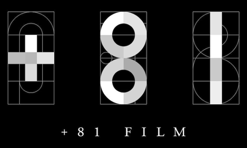 「+81FILM」ロゴ