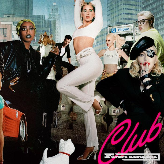 デュア・リパ『Club Future Nostalgia』ジャケット