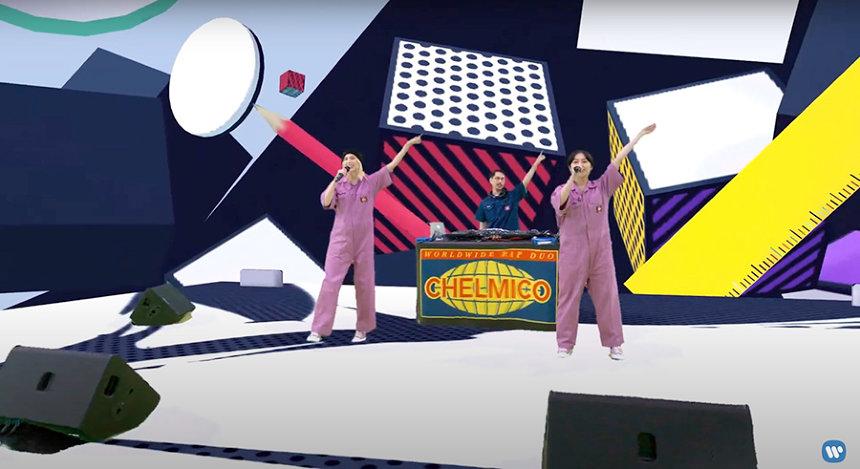 『chelmicoが2次元と3次元を行き来する#ごちゃmazeハイパーバーチャルライブ』