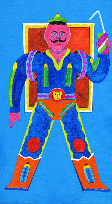 姫田真武作品『エナジー大臣』 ©臼井儀人/双葉社・シンエイ・テレビ朝日・ADK 2020