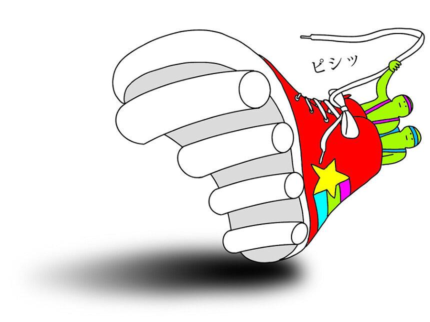ぬQ作品『ローラー兵士』 ©臼井儀人/双葉社・シンエイ・テレビ朝日・ADK 2020