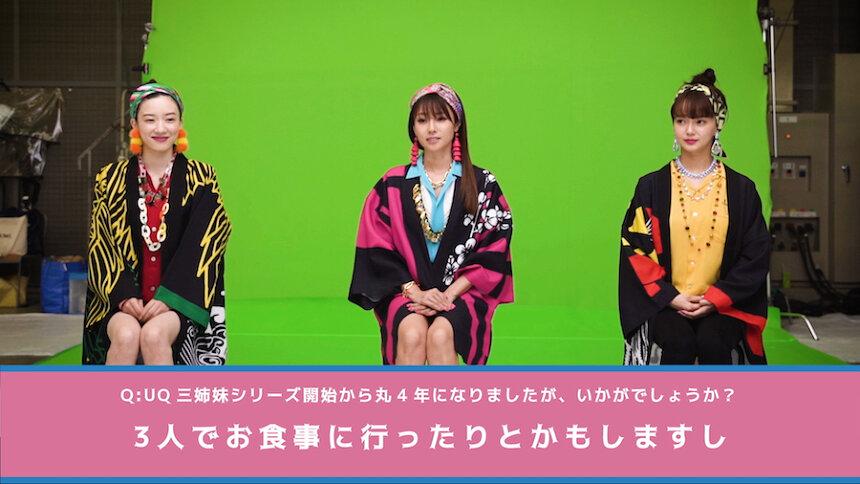 UQ mobile新テレビCM「め組のひと」篇メイキング