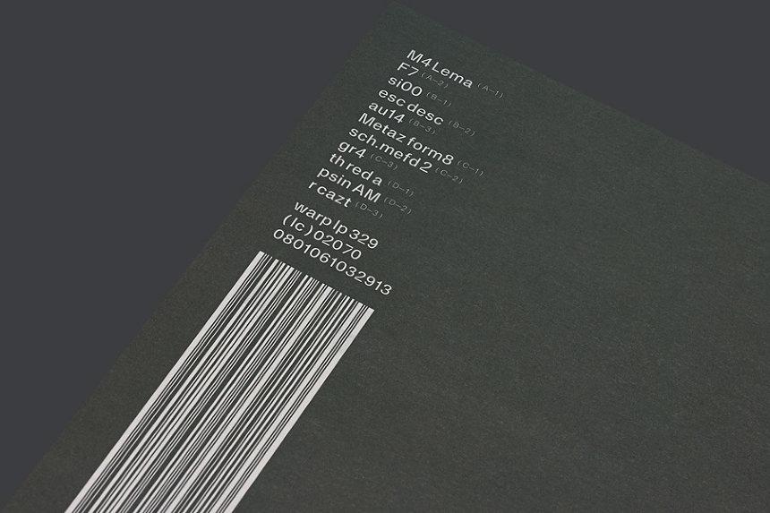 Autechre『SIGN』輸入盤LP