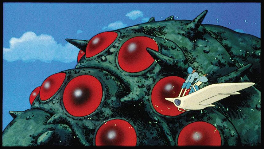 『風の谷のナウシカ』(1984)スチール写真 宮崎駿 ©1984 Studio Ghibli・H