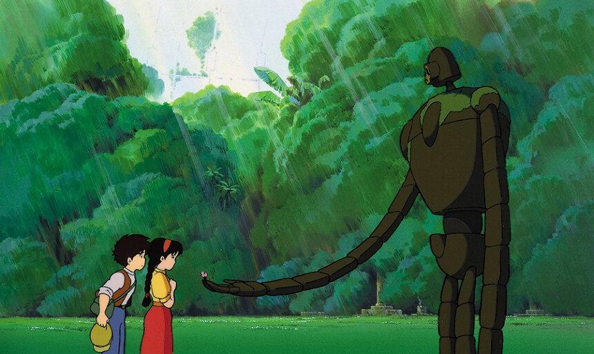 『天空の城ラピュタ』(1986)スチール写真 宮崎駿 ©1986 Studio Ghibli
