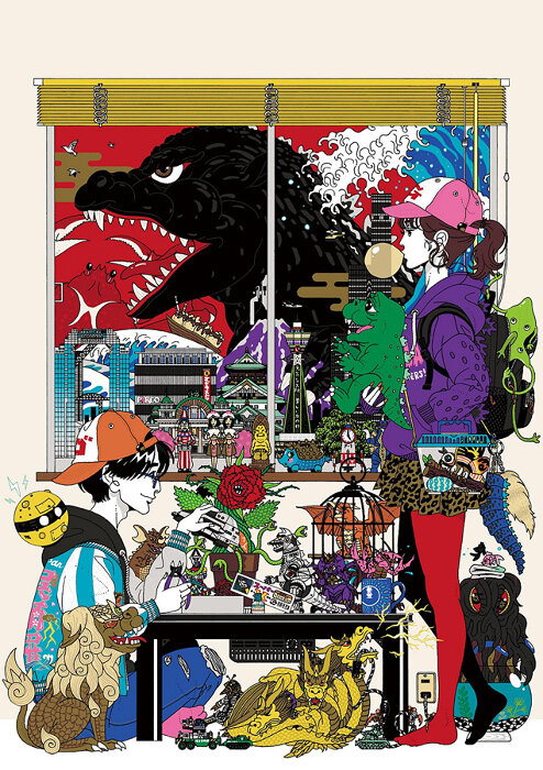 「ゴジラ・ストア Osaka」メインビジュアル TM & ©TOHO CO., LTD.