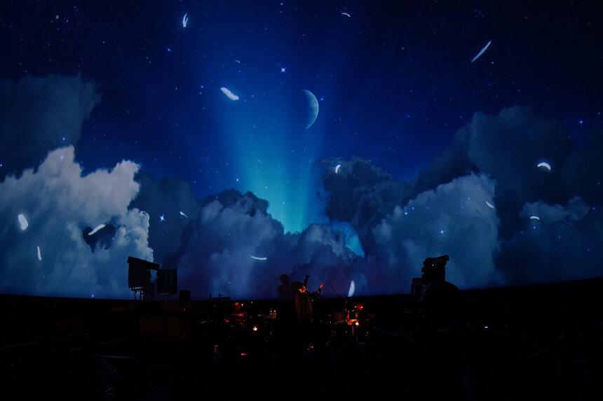 『真夜中のプラネタリウム−Midnight Planetarium Live−』×堂珍嘉邦の演出イメージ