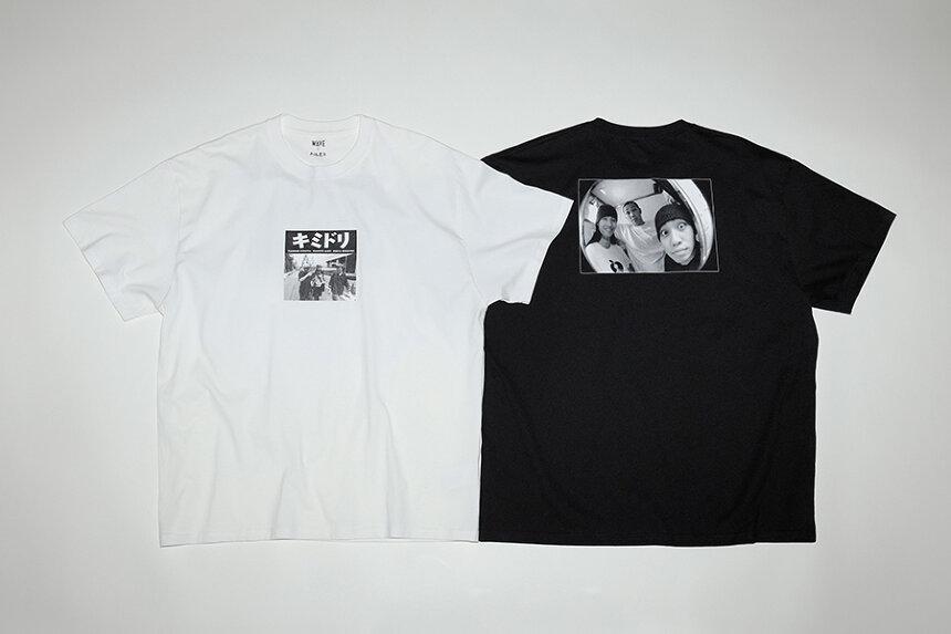 キミドリのTシャツビジュアル