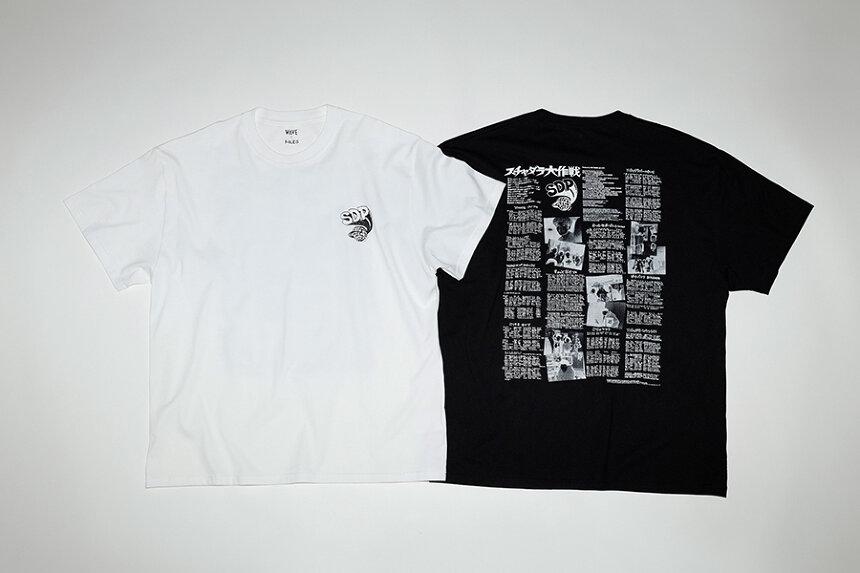スチャダラパーのTシャツビジュアル