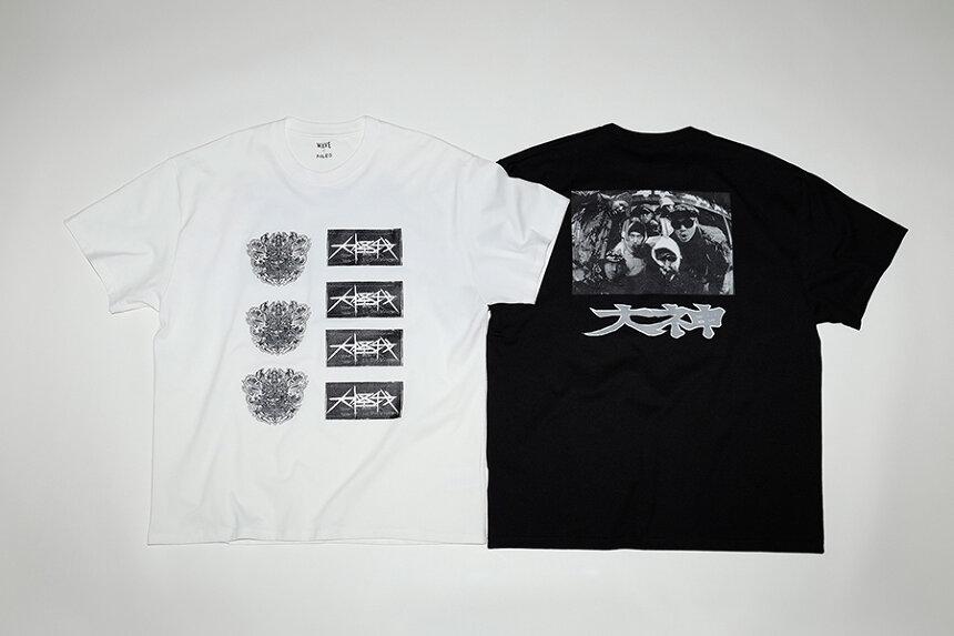 大神のTシャツビジュアル