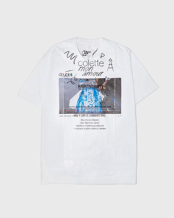 Colette Mon Amour Doublet T-Shirt ¥16,000