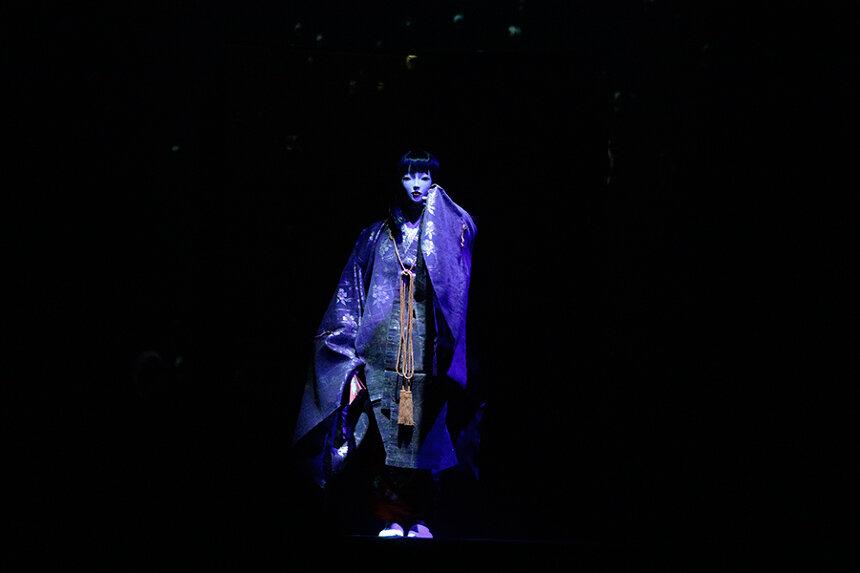 伝統芸能と最先端技術がコラボ、能舞台『VR能 攻殻機動隊』が11月に再演