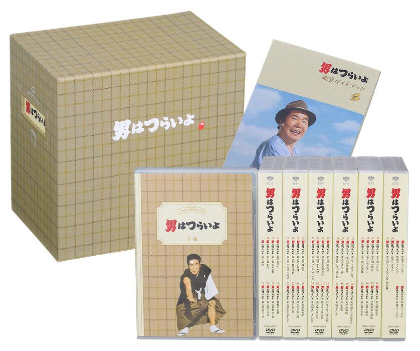 『男はつらいよ 全50作ボックス』(Blu-ray BOX) ©松竹株式会社
