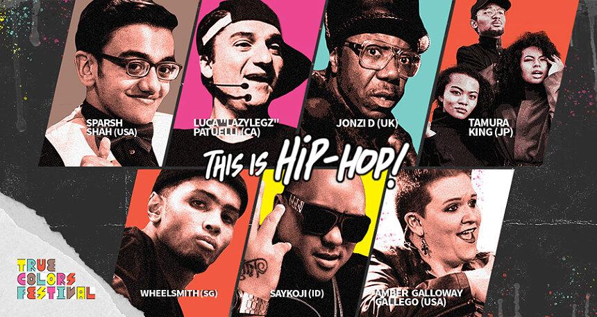 『True Colors Festival』の初オンラインイベント『THIS IS HIP-HOP』開催
