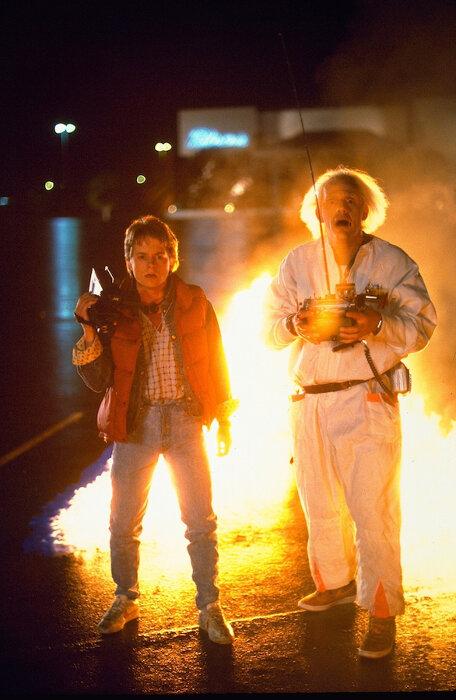 『バック・トゥ・ザ・フューチャー』 ©1985 Universal City Studios, Inc. All Rights Reserved.