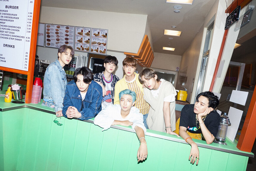 BTS Photo by Big Hit Entertainment