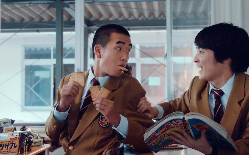 日清シスコ「ココナッツサブレ」新ウェブ動画「食べたみが無限 篇」より