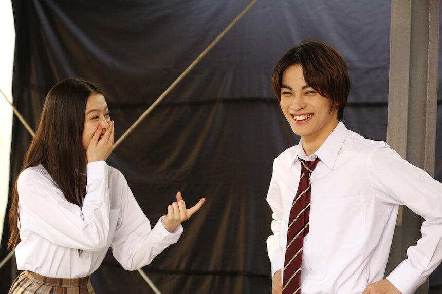 日清シスコ「ココナッツサブレ」新ウェブ動画「食べたみが無限 篇」オフショット