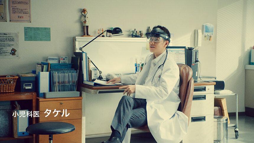「docomo5G 希望を加速しよう 2nd」篇より