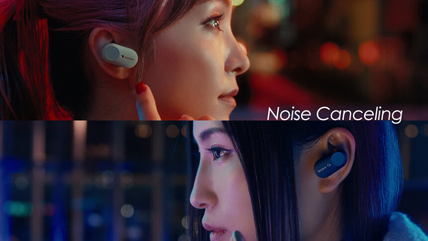 ソニーと「THE FIRST TAKE」のコラボレーションCM『Sony 1000X Series × THE FIRST TAKE LiSA × Uru編:WF-1000XM3』より