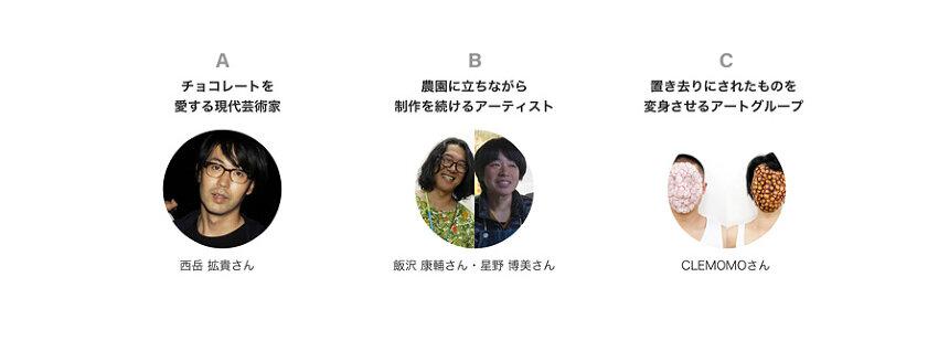 『おうち旅ルミネ meets 中之条』ガイドアーティスト