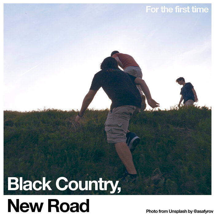 Black Country, New Road『For the first time』ジャケット
