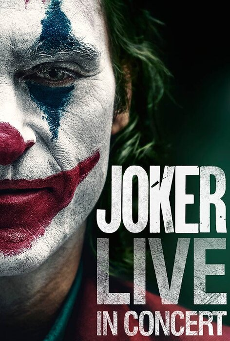 『JOKER LIVE IN CONCERT』ビジュアル ©2020 WBEI TM & ©DC Comics