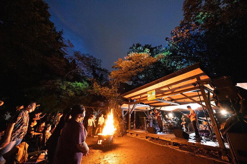 『#ライブフォレストフェス〜森と川と焚火の音楽祭〜』