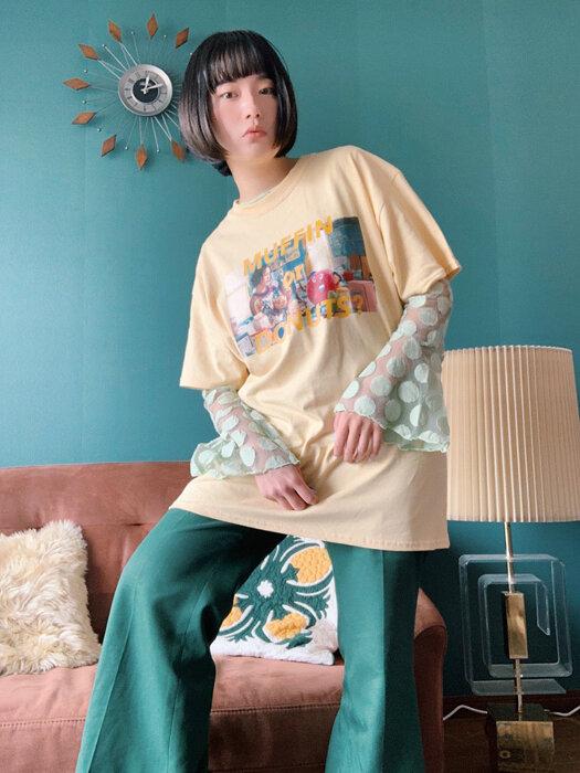 コラボレーショングッズ「MUFFIN or DONUTS Tシャツ」