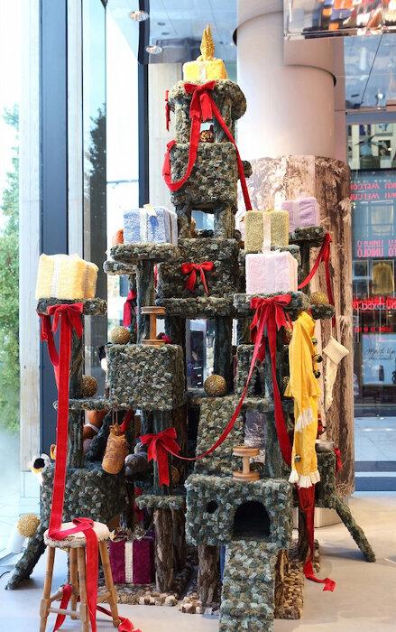 ユニクロオリジナル「フリースクリスマスツリー」