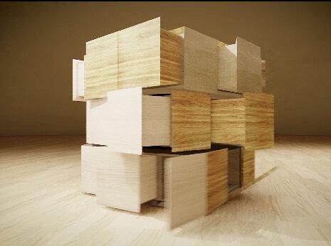 隈研吾『Box To Rubik』