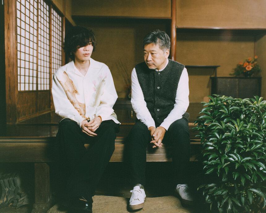 米津玄師と是枝裕和監督 photo by 堀越照雄