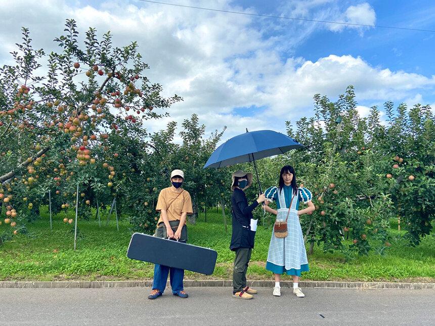 『いとみち』Twitterキャンペーン写真 ©2021『いとみち』製作委員会