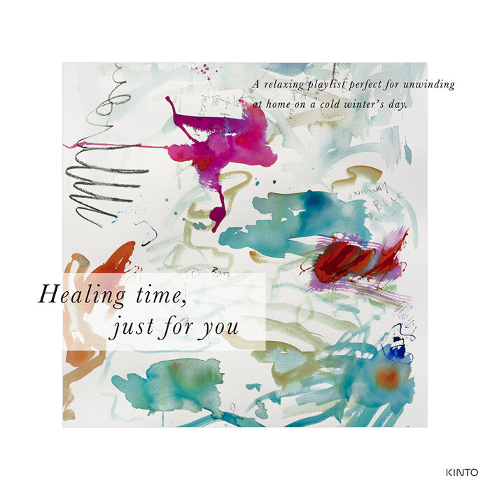「Healing time, just for you」
