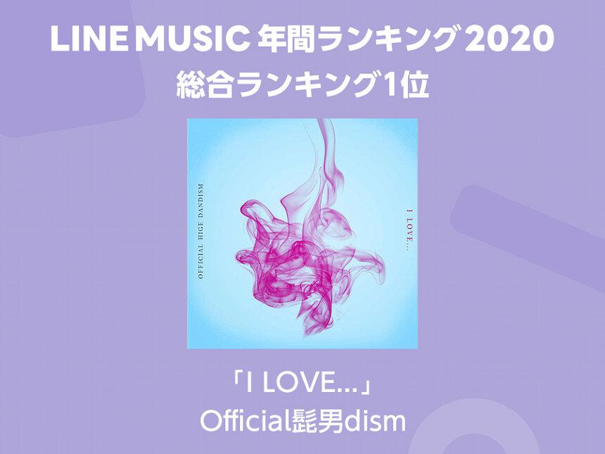 LINE MUSIC「年間ランキング2020」