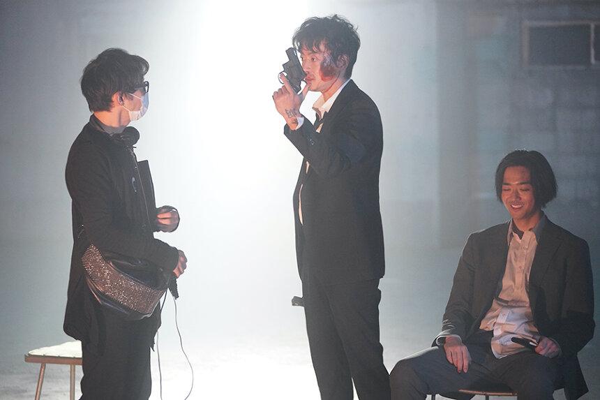 『アクターズ・ショート・フィルム』現場写真