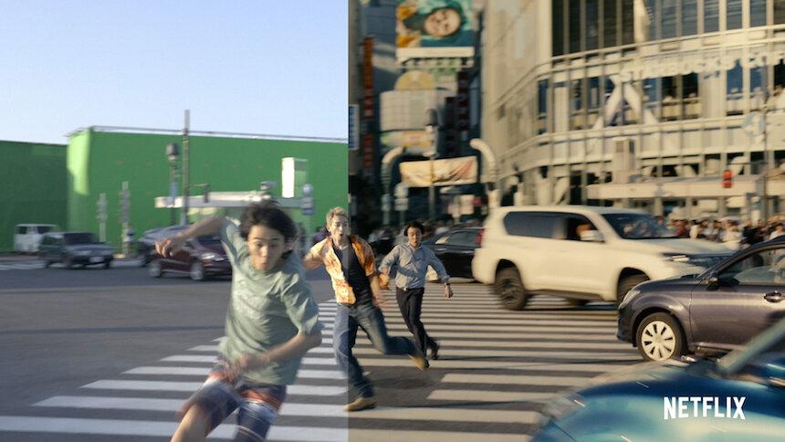 Netflix Japan正月特別テレビCM「想像と再生」より