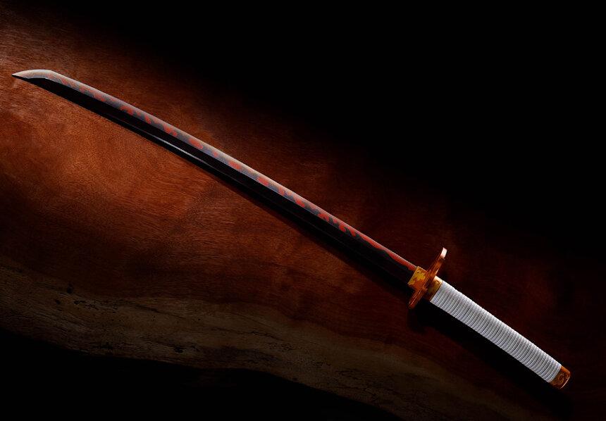 「PROPLICA 日輪刀(煉獄杏寿郎)」 ©吾峠呼世晴/集英社・アニプレックス・ufotable