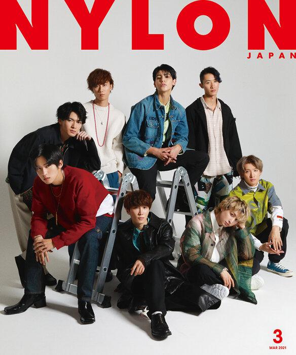 『NYLON JAPAN 2021年3月号』表紙 ©NYLON JAPAN