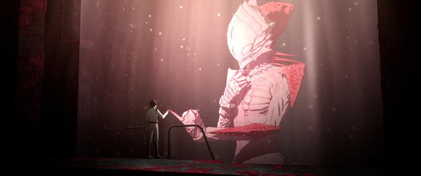 『シドニアの騎士 あいつむぐほし』 ©弐瓶勉・講談社/東亜重工重力祭運営局
