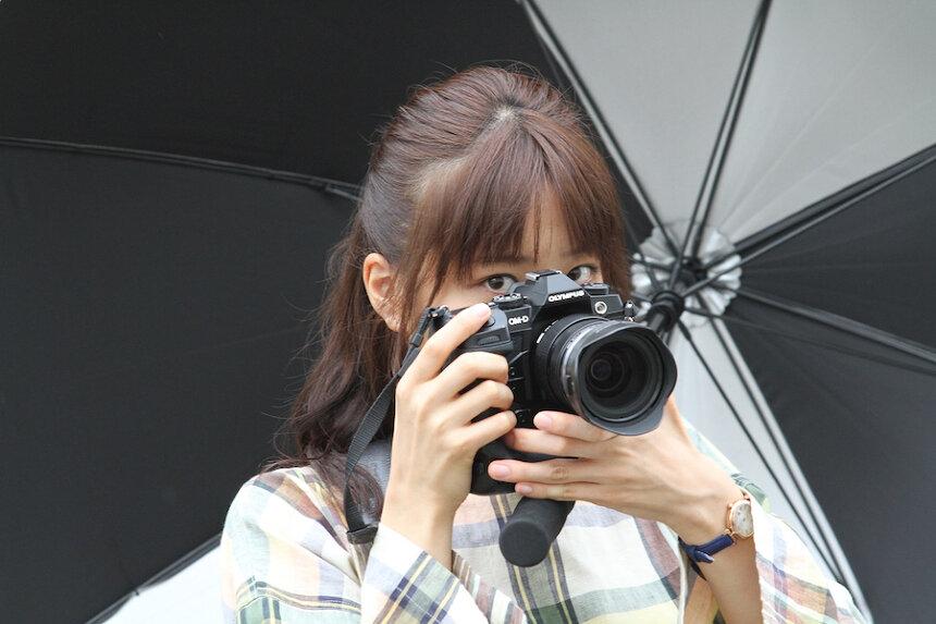 『おもいで写眞』メイキング ©「おもいで写眞」製作委員会